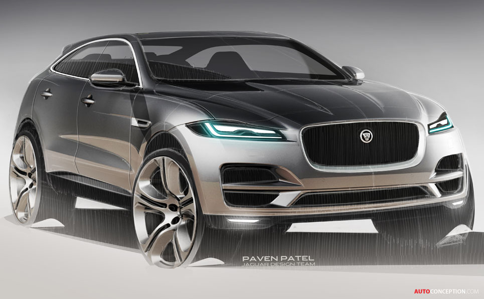 2015 frankfurt motor show jaguar f pace suv revealed. Black Bedroom Furniture Sets. Home Design Ideas