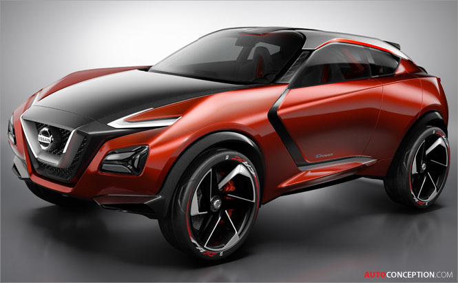2015 Frankfurt Motor Show: Nissan Gripz Concept Hints at Future Crossover