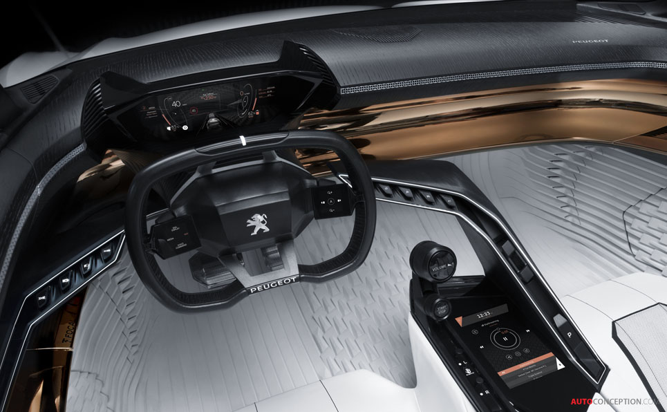 Peugeot FRACTAL Concept Wins French Car Design Award