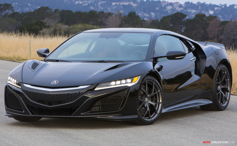 2017 Honda NSX to Get 565 BHP - AutoConception.com