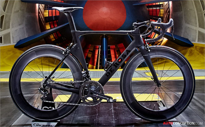 De Rosa and Pininfarina Collaborate on New Bike Design
