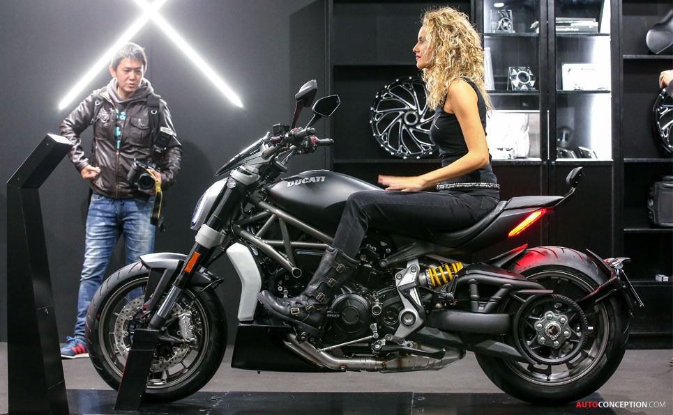 Ducati Launches New Xdiavel Cruiser Motorcycle