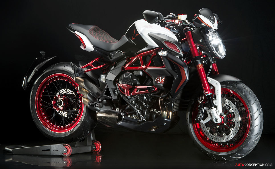 2016 Mv Agusta Brutale 800 And Lewis Hamilton Dragster Rr