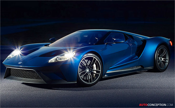 3D Printing Helps Ford Designers to Develop All-New Ford GT