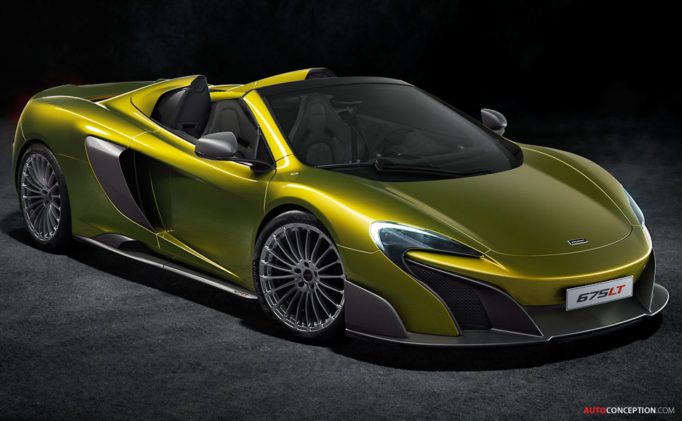 Mclaren P1 Gtr Logo >> 2016 McLaren 675 LT Spider Revealed - AutoConception.com