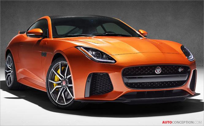 200 MPH Jaguar F-Type SVR – First Official Pictures