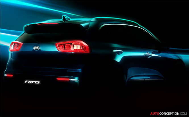 Kia Reveals First Images of New Niro HUV