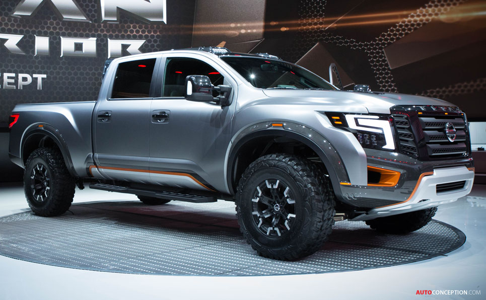 nissan designers go extreme with new titan warrior concept. Black Bedroom Furniture Sets. Home Design Ideas