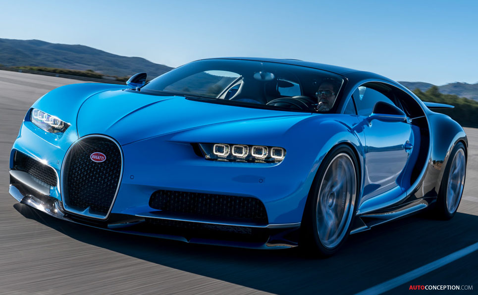 2016 bugatti chiron unveiled. Black Bedroom Furniture Sets. Home Design Ideas