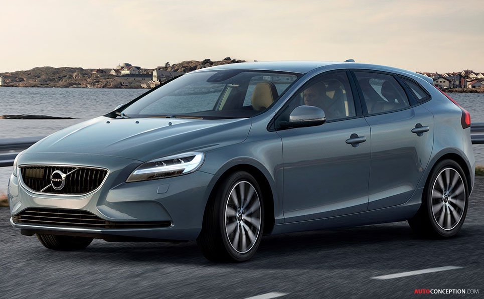 2016 volvo v40 facelift revealed. Black Bedroom Furniture Sets. Home Design Ideas