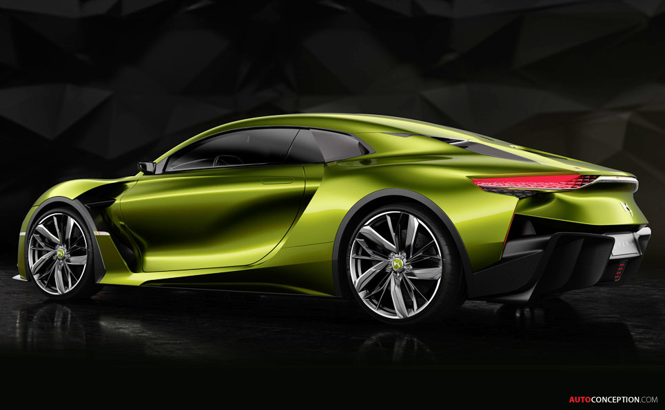 DS E-Tense Electric Concept Car Unveiled Ahead of Geneva Debut