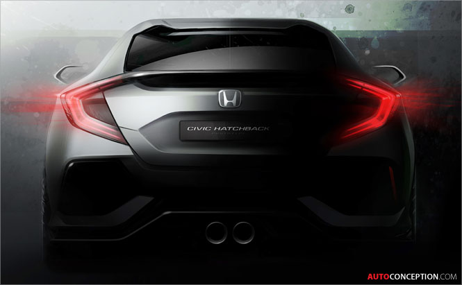 New Honda Civic to Be Previewed by Design Study at Geneva Show