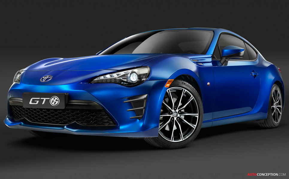 2016 Toyota GT86 Facelift Unveiled