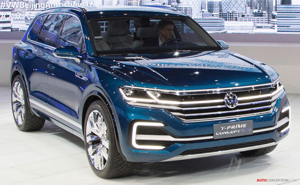 volkswagen previews next generation touareg with t prime concept gte. Black Bedroom Furniture Sets. Home Design Ideas
