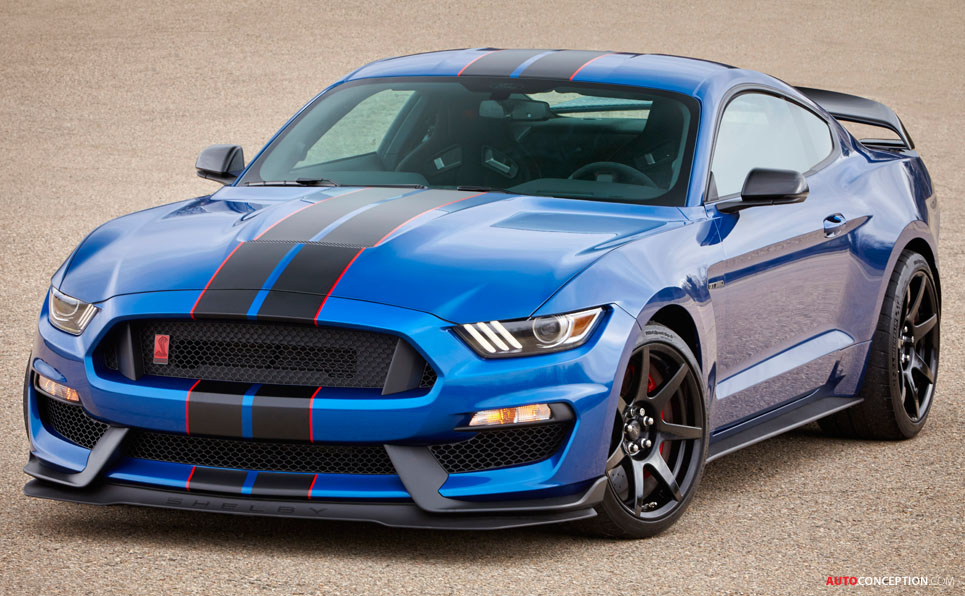 Ford Reveals Updates for 2017 Shelby GT350 Mustang