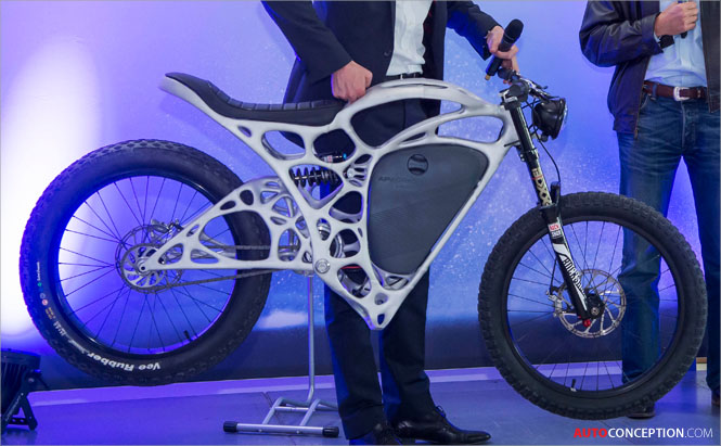 Airbus Unveils 'World's First' 3D-Printed Motorcycle