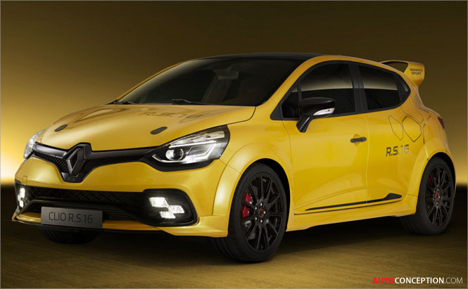 Renault Clio R.S. 16 Officially Unveiled in Monaco