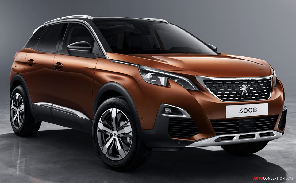 2017 peugeot 3008 suv revealed. Black Bedroom Furniture Sets. Home Design Ideas