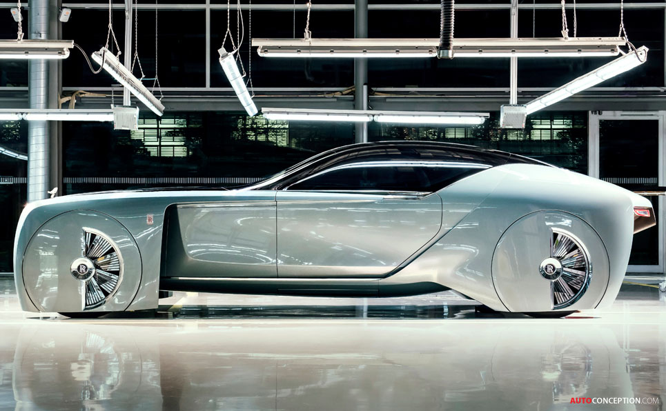 Rolls-Royce Vision Next 100 Unveiled
