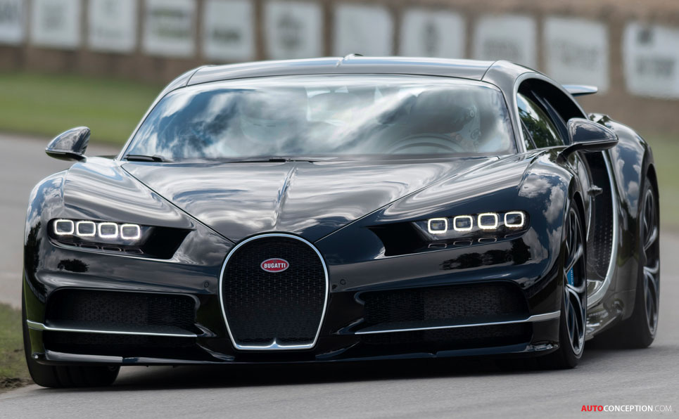 Bugatti Chiron Makes UK Debut