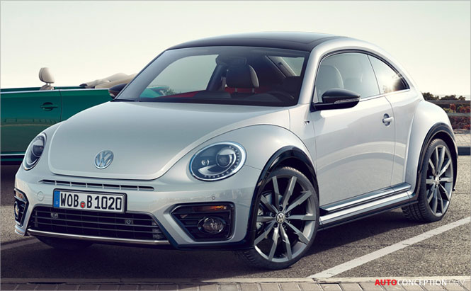 Styling Changes and New R-Line Trim for Volkswagen Beetle