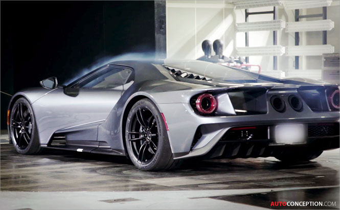 Ford Gt Active Aerodynamics Wind Tunnel Testing