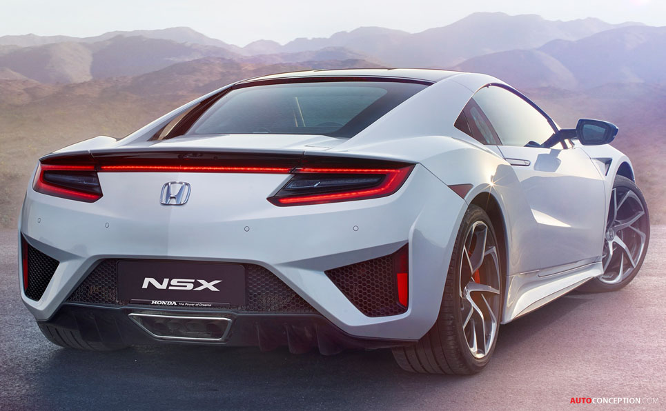 2016 Honda NSX – New Pictures and Video - AutoConception.com