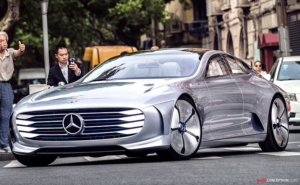 Mercedes F 015 Luxury in Motion and Concept IAA Win 'Red Dot' Design Awards