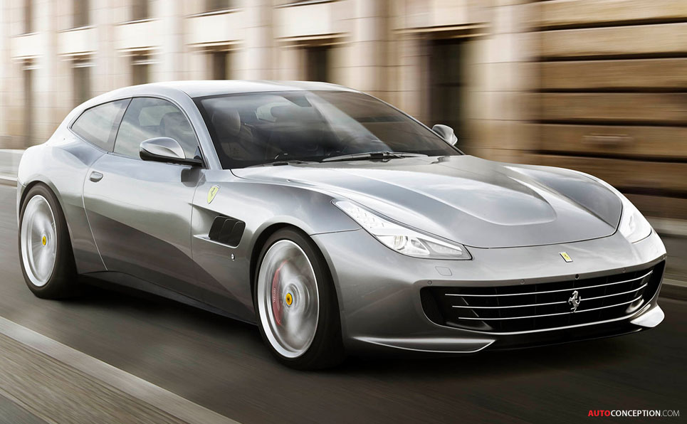 Ferrari GTC4Lusso T Revealed - AutoConception.com