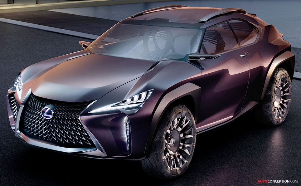Lexus Ux Concept Revealed In Paris Autoconception Com