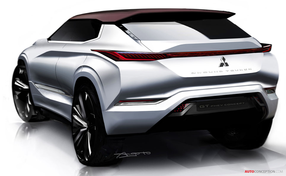 Beautiful Mitsubishi GTPHEV Concept Officially Revealed