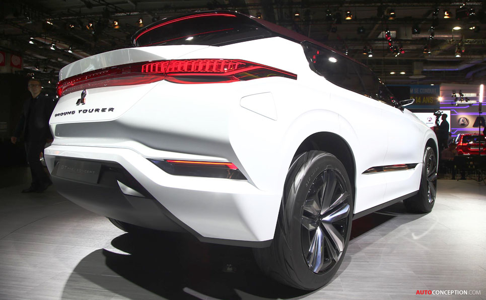 Wonderful Mitsubishi GTPHEV Concept Officially Revealed