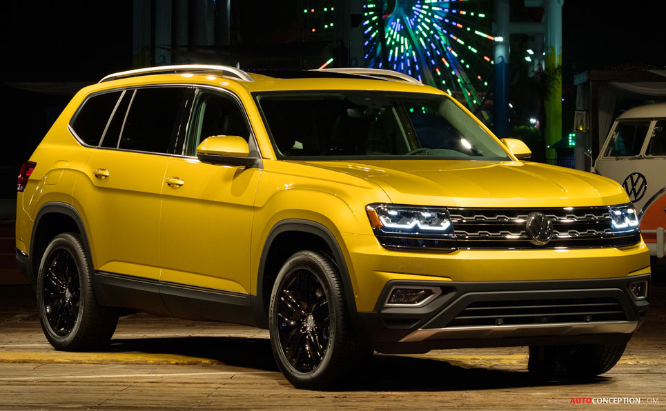 usa russia and middle east to get new volkswagen atlas suv. Black Bedroom Furniture Sets. Home Design Ideas