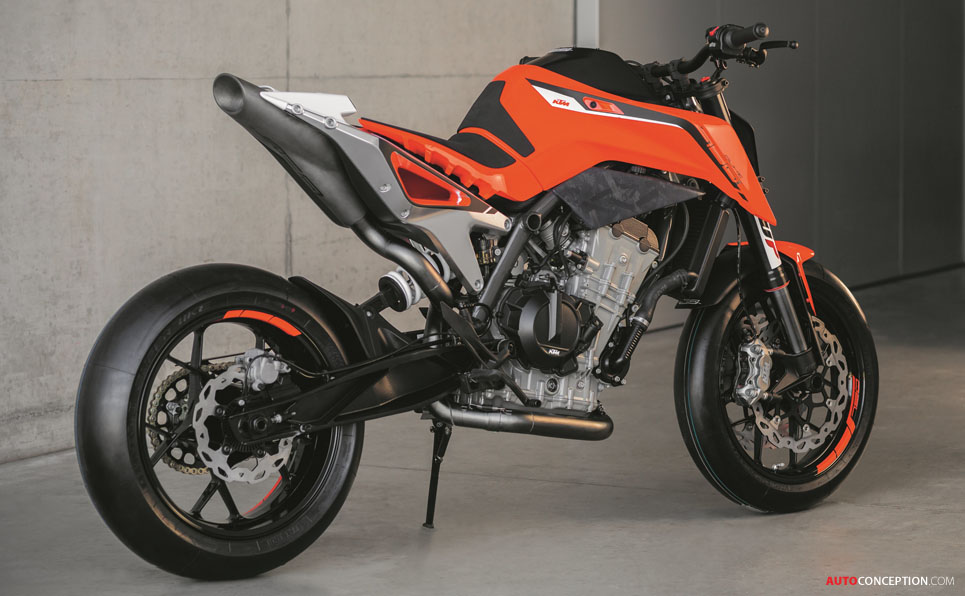 ktm 790 duke prototype hints at new middleweight naked. Black Bedroom Furniture Sets. Home Design Ideas
