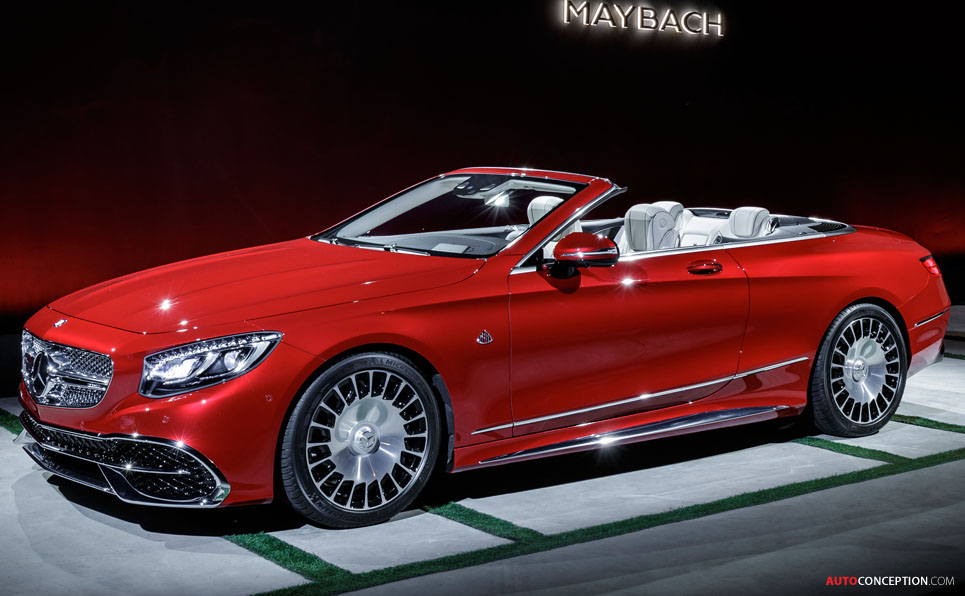 Mercedes maybach s 650 cabriolet unveiled at la auto show for Mercedes benz 650