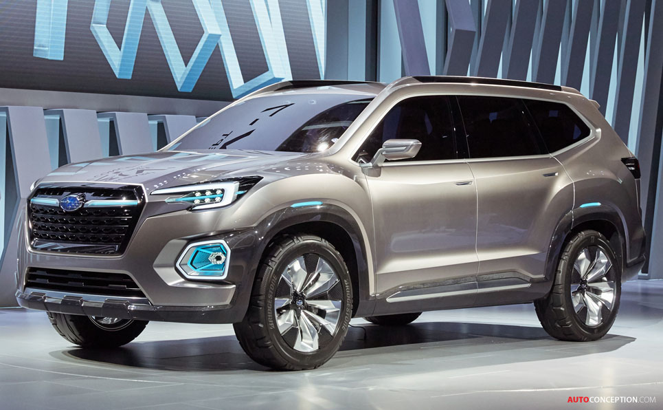 Subaru Viziv 7 Suv Concept Revealed At La Auto Show ...