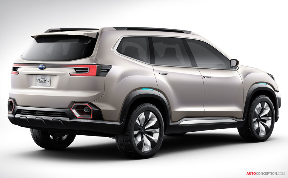 Subaru VIZIV-7 SUV Concept Revealed at LA Auto Show -