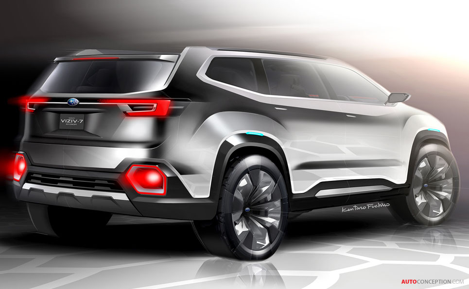 Subaru VIZIV-7 SUV Concept Revealed at LA Auto Show ...