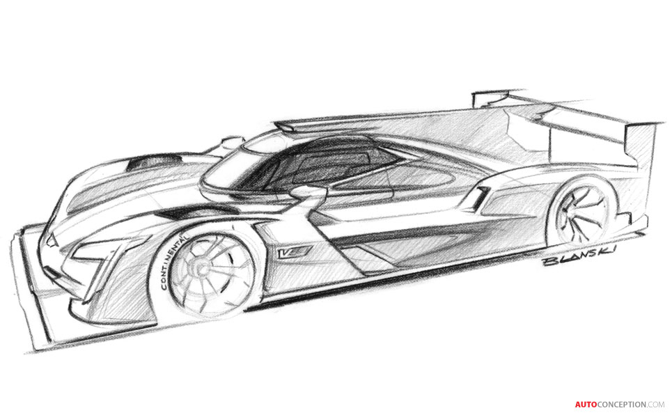 ... Cadillac Reveals DPi V.R Prototype Race Car