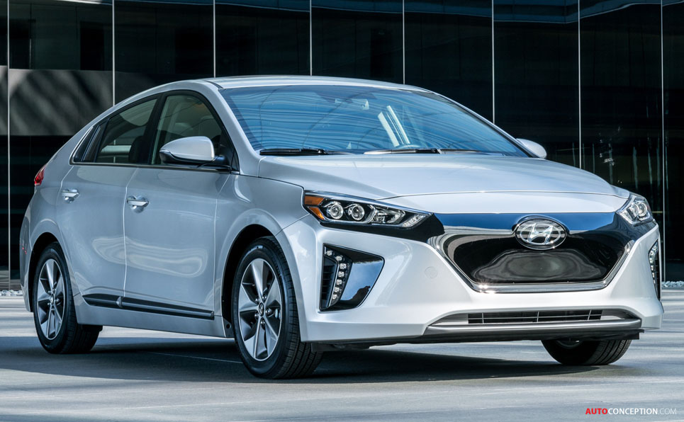 Hyundai Ioniq and Vision G Concept Win 2016 Good Design Awards