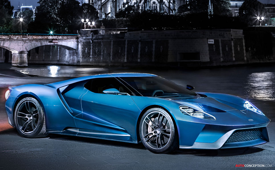 new ford gt becomes fastest production ford ever. Black Bedroom Furniture Sets. Home Design Ideas