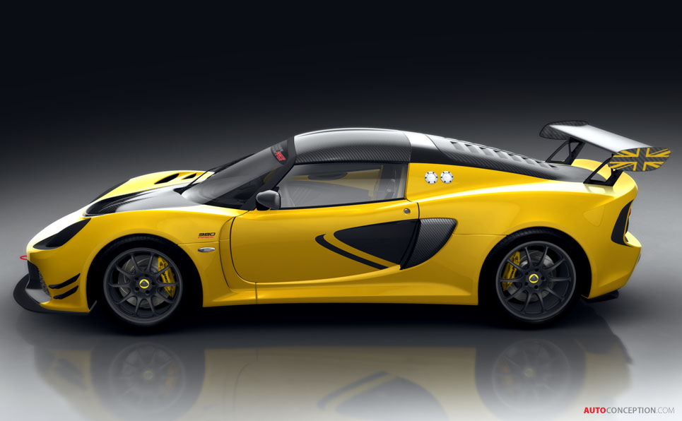Lotus Exige Race 380 Track Model Unveiled