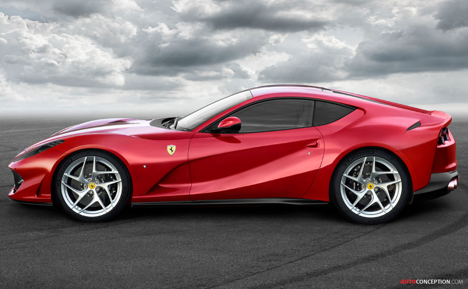 Elegant Meet The New Ferrari 812 Superfast  The Fastest Series