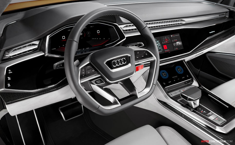 Audi Q8 Sport Concept Previews New Large SUV