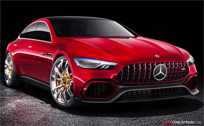 Mercedes-AMG GT Concept Unveiled in Geneva
