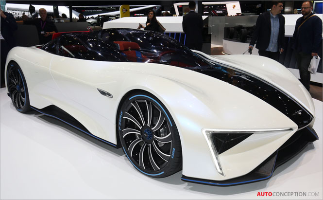 Techrules Debuts Production Design for Ren Supercar