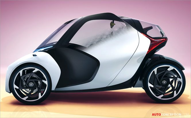 Toyota i-TRIL Concept Hints at Autonomous Electric City Car
