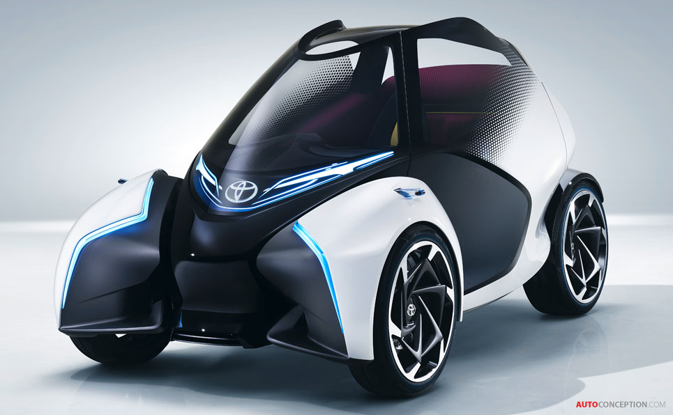 Fastest Car In The World 2017 >> Toyota i-TRIL Concept Hints at Autonomous Electric City ...
