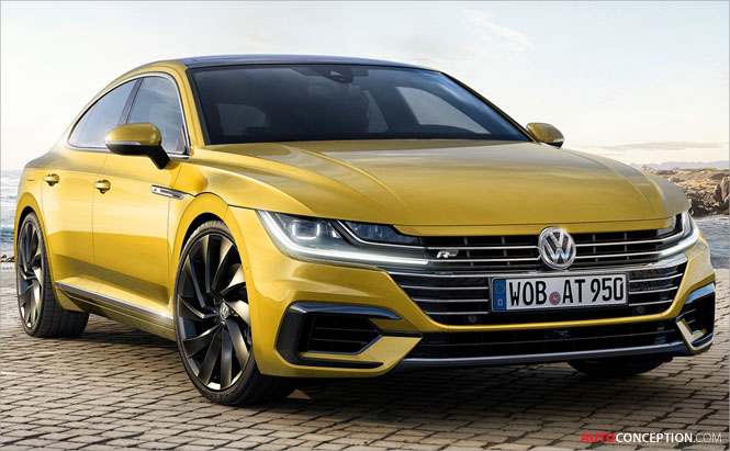 New Volkswagen Arteon Officially Unveiled