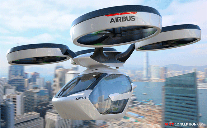 Italdesign and Airbus Reveal Futuristic Flying Car Concept